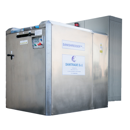 Waste treatment plant SANISHREDDER