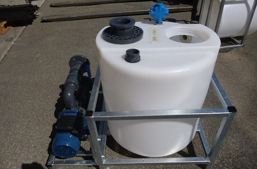 Water drain collecting unit