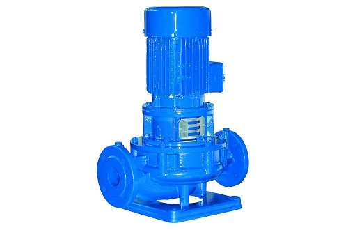 In- line centrifugal pumps