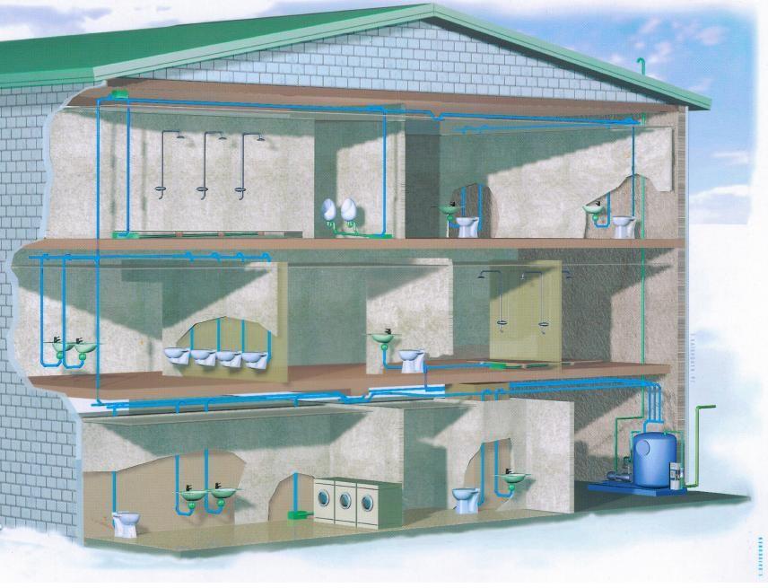 Sanitrade sistemi sottovuoto evac civile impianti di raccolta